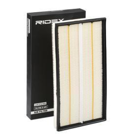 Įsigyti ir pakeisti oro filtras RIDEX 8A0089