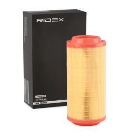 Filtro aria RIDEX 8A0031 comprare e sostituisci