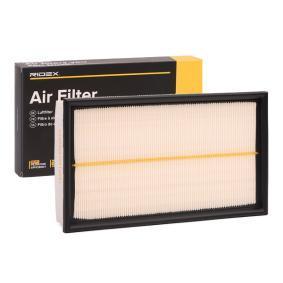 pirkite RIDEX oro filtras 8A0041 bet kokiu laiku