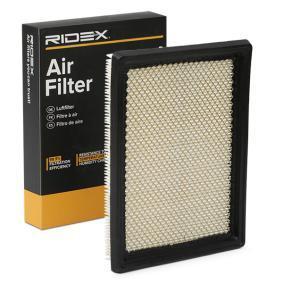 Pērc RIDEX Gaisa filtrs 8A0074 jebkurā laikā