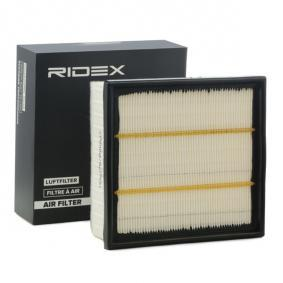 Filtro aria RIDEX 8A0158 comprare e sostituisci