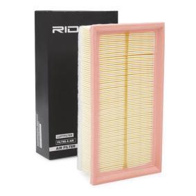 légszűrő RIDEX 8A0132 - vásároljon és cserélje ki!