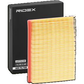 kúpte si RIDEX Vzduchový filter 8A0088 kedykoľvek