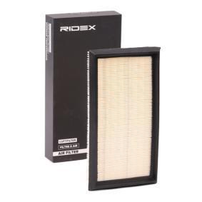 Filtro aria 8A0259 con un ottimo rapporto RIDEX qualità/prezzo