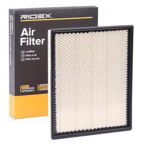 Filtr powietrza RIDEX 8A0266 kupić i wymienić