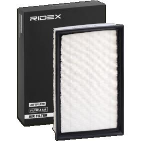 Kupte a vyměňte Vzduchový filtr RIDEX 8A0277