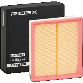 Filtru aer RIDEX 8A0192 cumpărați și înlocuiți