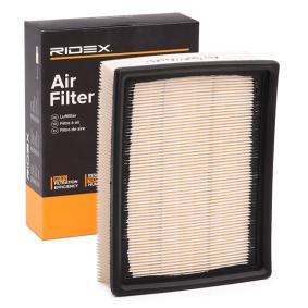 Filtr powietrza RIDEX 8A0224 kupić i wymienić