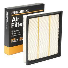 légszűrő RIDEX 8A0220 - vásároljon és cserélje ki!