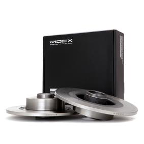 Disco freno 82B0397 con un ottimo rapporto RIDEX qualità/prezzo