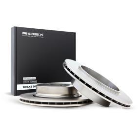 Disco freno 82B0197 con un ottimo rapporto RIDEX qualità/prezzo