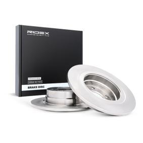 Disco freno 82B0367 con un ottimo rapporto RIDEX qualità/prezzo