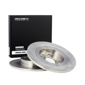 Disco freno RIDEX 82B0408 comprare e sostituisci
