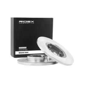 Disco freno RIDEX 82B0715 comprare e sostituisci
