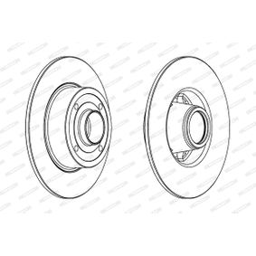 Bremsscheibe von FERODO - Artikelnummer: DDF1369C-1