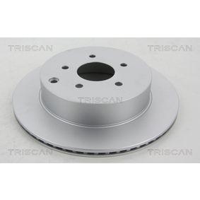 Disco de travão 8120 14177C para NISSAN MURANO com um desconto - compre agora!