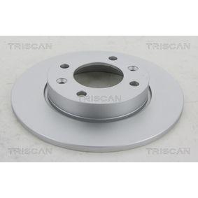 Bremsscheiben 8120 28113C TRISCAN Sichere Zahlung - Nur Neuteile