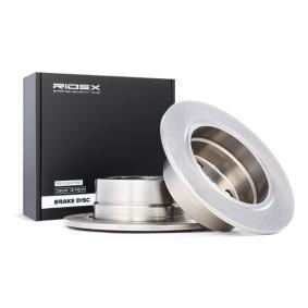 acheter RIDEX Disque de frein 82B0775 à tout moment