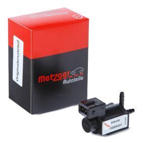 METZGER клапан, AGR-управление на отработените газове 0892122 купете онлайн денонощно