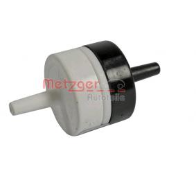 compre METZGER Válvula reguladora da pressão de sobrealimentação 0892222 a qualquer hora