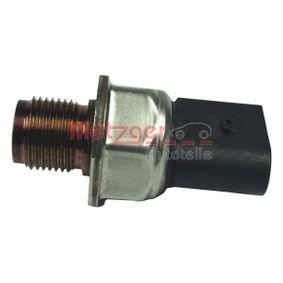 koop METZGER Sensor, brandstofdruk 0906201 op elk moment