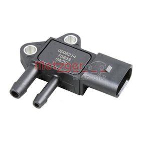 köp METZGER Sensor, avgastryck 0906214 när du vill