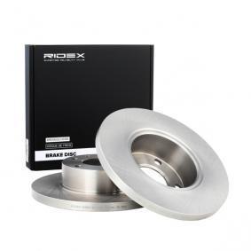 Disco freno 82B0743 con un ottimo rapporto RIDEX qualità/prezzo