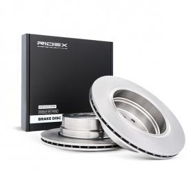 Brake Disc 82B0571 with an exceptional RIDEX price-performance ratio