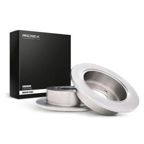 Disco freno RIDEX 82B0281 comprare e sostituisci