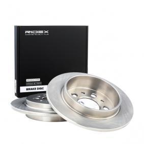 köp RIDEX Bromsskiva 82B0803 när du vill