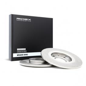 Disco freno RIDEX 82B0787 comprare e sostituisci