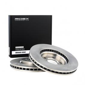 Disco freno 82B0876 con un ottimo rapporto RIDEX qualità/prezzo