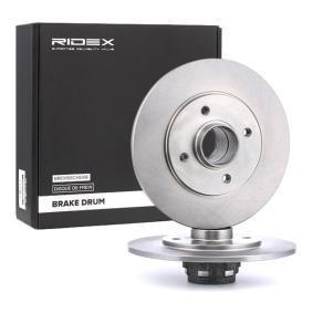 Disco freno 82B0463 con un ottimo rapporto RIDEX qualità/prezzo