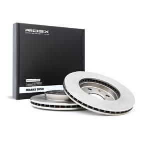 Disco freno RIDEX 82B0560 comprare e sostituisci