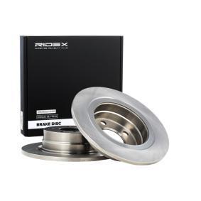 Disco freno 82B0806 con un ottimo rapporto RIDEX qualità/prezzo