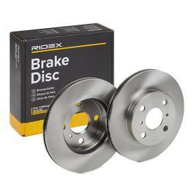 Disco freno RIDEX 82B0766 comprare e sostituisci