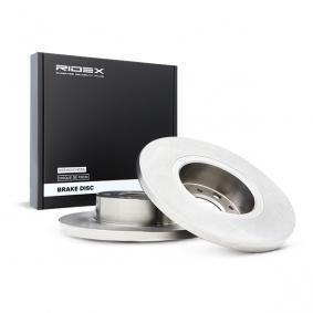 Disco freno 82B0911 con un ottimo rapporto RIDEX qualità/prezzo