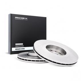 Disco freno 82B0835 con un ottimo rapporto RIDEX qualità/prezzo
