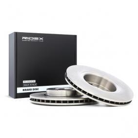 Disco freno 82B0319 con un ottimo rapporto RIDEX qualità/prezzo