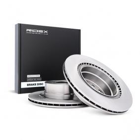 Disco freno 82B0963 con un ottimo rapporto RIDEX qualità/prezzo