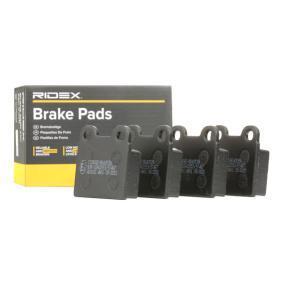 buy and replace Brake Pad Set, disc brake RIDEX 402B0489