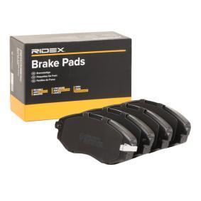 Compre e substitua Jogo de pastilhas para travão de disco RIDEX 402B0715