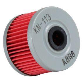 Filtre à huile KN-113 K&N Filters Paiement sécurisé — seulement des pièces neuves