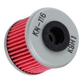 Filtre à huile KN-116 K&N Filters Paiement sécurisé — seulement des pièces neuves