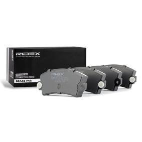 Achetez et remplacez Jeu de plaquettes de frein, frein à disque 402B0733