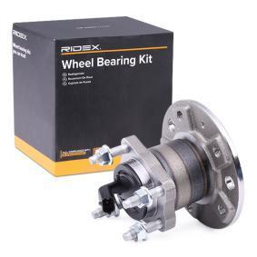 Kit cuscinetto ruota 654W0416 con un ottimo rapporto RIDEX qualità/prezzo