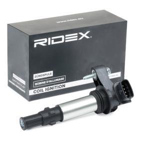 Bobina d'accensione RIDEX 689C0018 comprare e sostituisci