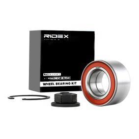 kerékcsapágy készlet RIDEX 654W0158 - vásároljon és cserélje ki!