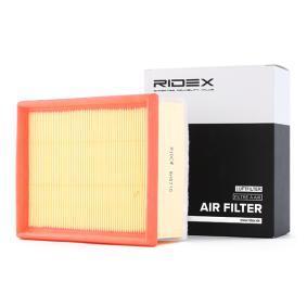 въздушен филтър RIDEX 8A0210 купете и заменете