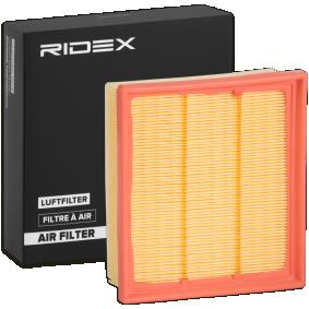 Filtru aer RIDEX 8A0279 cumpărați și înlocuiți
